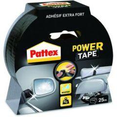 Pattex power tape zwart - 25 meter