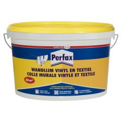 Perfax vinyl- en textiellijm - 10 kg.