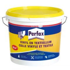 Perfax vinyl- en textiellijm - 5 kg.