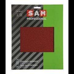 SAM professional schuurpapier droog korund - 3 stuks