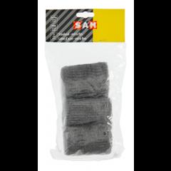 SAM staalwol extra fijn (000) - 3 x 30 gram