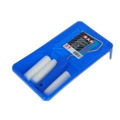 SAM lakset voor acryl (2 viltrollers 10 cm. + 1 roller gratis)