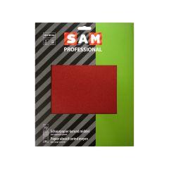 SAM professional schuurpapier droog korund middel - 3 stuks