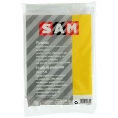 SAM vloerfolie - 4 meter x 4 meter