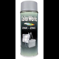 Motip Colorworks zinkspray - 400 ml.