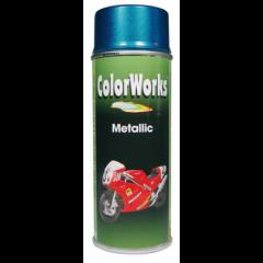 Colorworks metallic blauw - 400 ml.