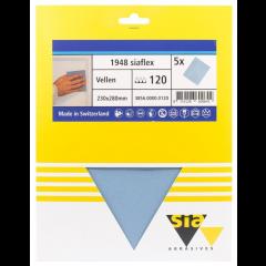 Sia siaflex schuurpapier handvellen - 5 vellen