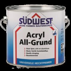 Südwest acryl all-grund U51 hechtprimer zwart - 2,5 liter