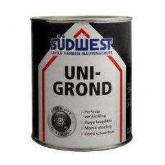 Südwest uni-grond X18 grondverf wit - 750 ml.