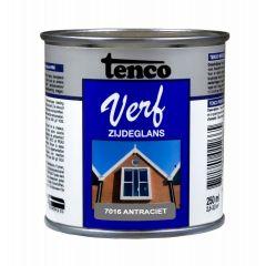 Tenco verf zijdeglans antraciet  (RAL 7016) - 250 ml