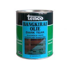 Tenco bangkirai olie dark teak - 1 liter
