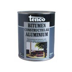 Tenco bitumen constructielak aluminium - 1 liter