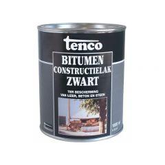 Tenco bitumen constructielak zwart - 1 liter