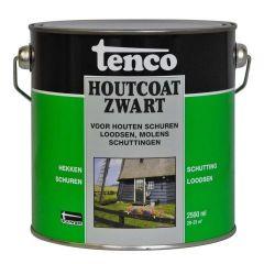 Tenco houtcoat zwart - 2,5 liter