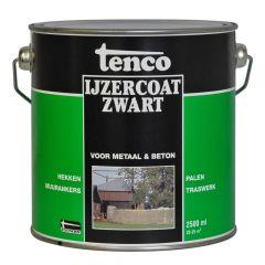 Tenco ijzercoat zwart - 5 liter
