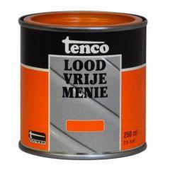 Tenco loodvrije menie oranje - 250 ml.