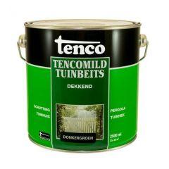Tenco tencomild tuinbeits dekkend donkergroen - 2,5 liter