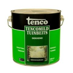 Tenco tencomild tuinbeits dekkend midden groen - 2,5 liter