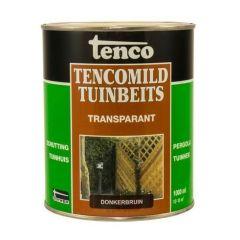 Tenco tencomild tuinbeits transparant donkerbruin - 1 liter