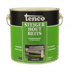 Tenco steigerhoutbeits antraciet - 2,5 liter