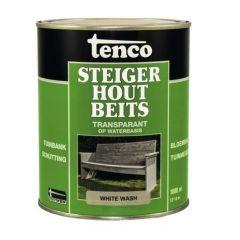 Tenco steigerhoutbeits white wash - 1 liter