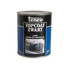 Tenco topcoat zwart - 1 liter