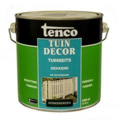 Tenco tuindecor / douglas beits dekkend donkergroen - 2,5 liter