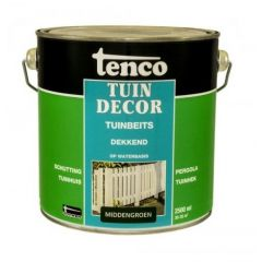 Tenco tuindecor / douglas beits dekkend middengroen - 2,5 liter