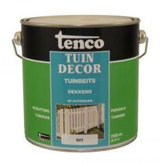 Tenco tuindecor / douglas beits dekkend wit - 2,5 liter