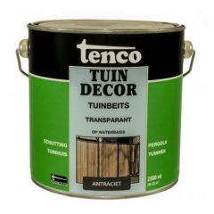Tenco tuindecor / douglas beits transparant antraciet - 2,5 liter