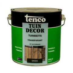 Tenco tuindecor / douglas beits transparant groen - 2,5 liter