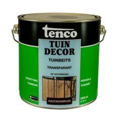 Tenco tuindecor / douglas beits transparant kastanjebruin - 2,5 liter