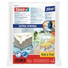 Tesa afdekfolie extra strong - 4 x 5 meter