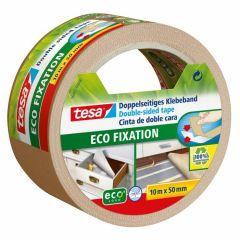 Tesa eco fixation dubbelzijdige tape - 10 m x 50 mm.