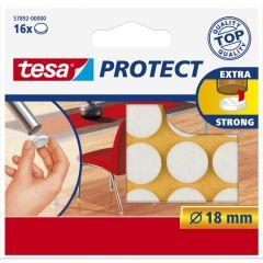 Tesa protect vilt wit 18 mm. - 16 stuks