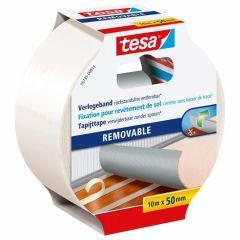 Tesa tapijttape verwijderbaar - 10 m x 50 mm.