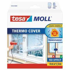 Tesa tesamoll thermo cover PE raamisolatie folie - 4 x 1,5 meter