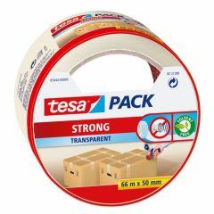 Tesa tesapack strong verpakkingstape transparant - 66 m x 50 mm