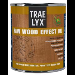 Trae Lyx raw wood effect oil donkerhout - 250 ml