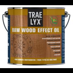Trae Lyx raw wood effect oil donkerhout - 2,5 liter
