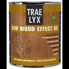 Trae Lyx raw wood effect oil donkerhout - 750 ml