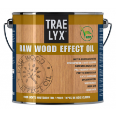 Trae Lyx raw wood effect oil lichthout - 2,5 liter