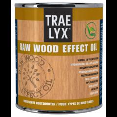 Trae Lyx raw wood effect oil lichthout - 750 ml