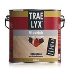 Trae-Lyx vloerlak zijdeglans - 2,5 liter