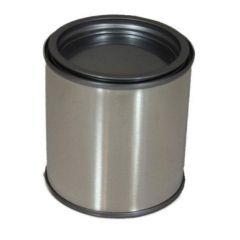 Verfblik met deksel - 125 ml.