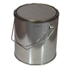 Verfblik met deksel en hengsel - 5 liter