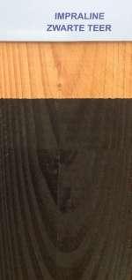 Kleureffect Hermadix zwarte teer