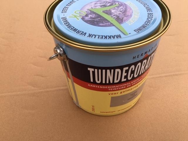 Hermadix tuindecoratiebeits dekkend taupe (716) - 2,5 liter