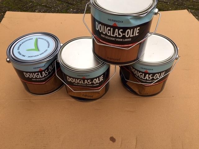 Hermadix douglas olie naturel - 2,5 liter