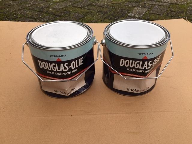 Hermadix douglas olie smoke white - 2,5 liter